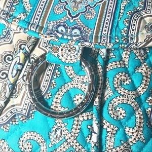 Vera Bradley Bags - Vera Bradley Saddle Up Totally Turquoise Crossbody